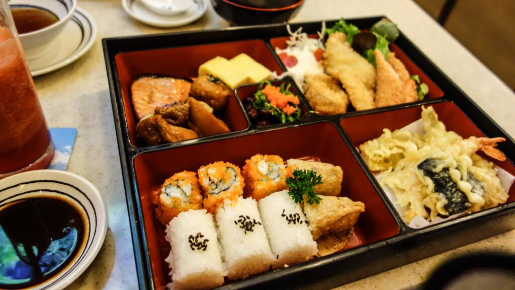 Lecker essen im Fuji