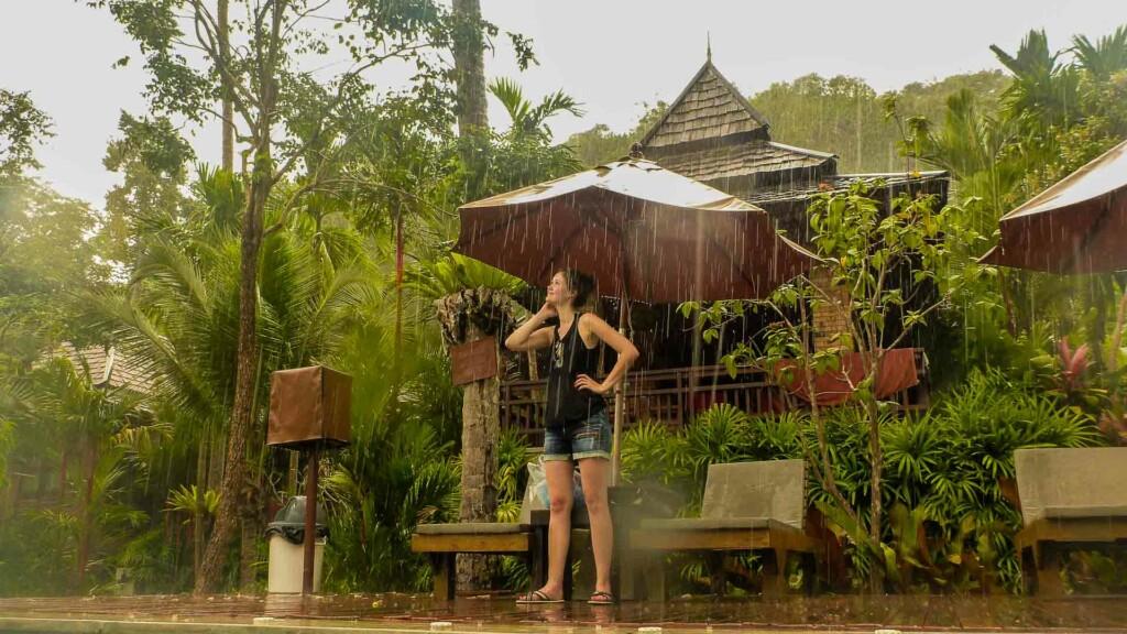 Phu Phi Maan Resort auch im Regen ein Genuss